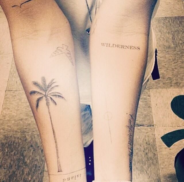 Palm tree tattoo <3 i want this on my ankle