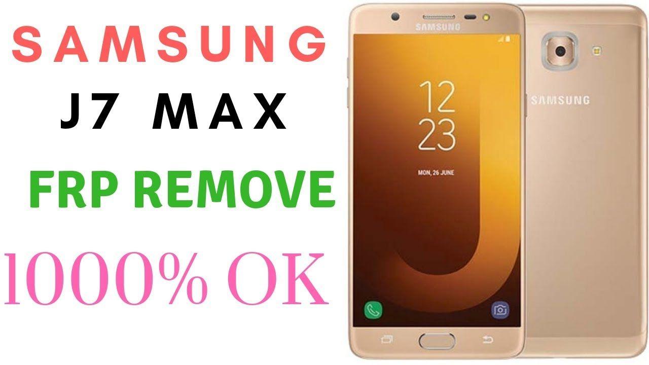 How To Samsung J7 max Frp Unlock Google Account Bypass