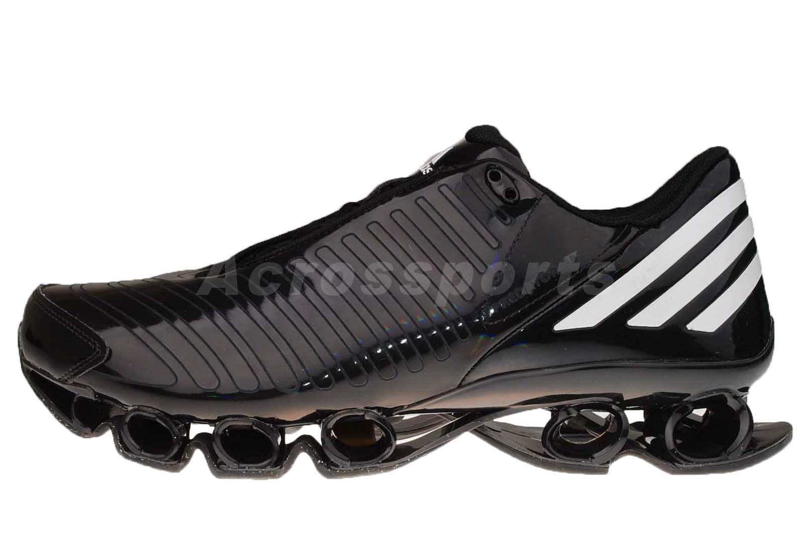 Adidas Predator Bounce Black Mens Running Shoes Ebay