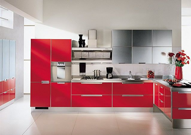 Cabinets Are Arranged Accordingly To Beautify Kitchen And Fill In The Space Checkout 25 Incredible Modular K Kitchen Modular Kitchen Room Design Kitchen Plans