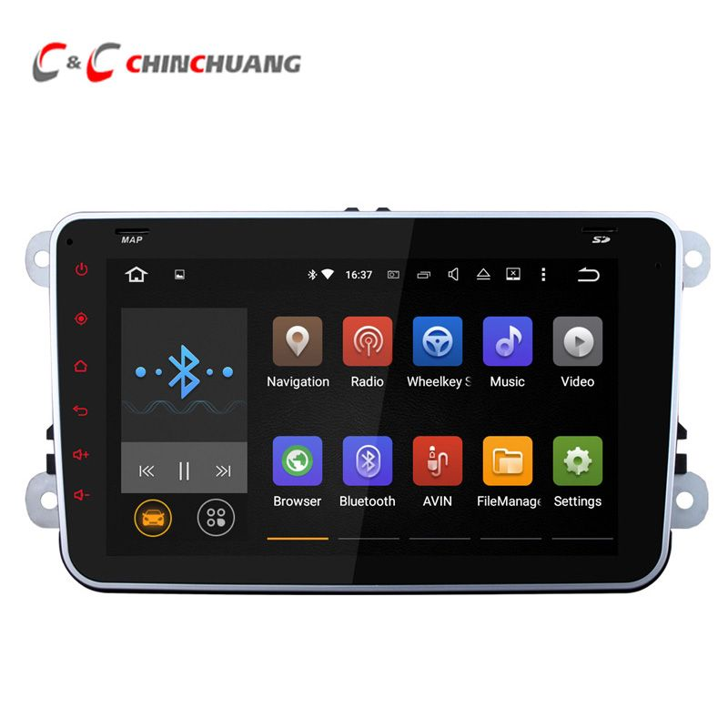 Upgraded Quad Core 1024x600 Android 5 1 1 Car Radio Head Unit