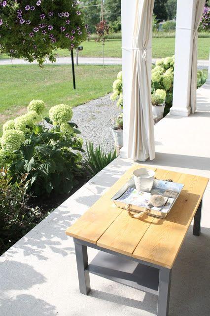 50 Diy Outdoor Coffee Table Ikea Hack Gardening Outdoors