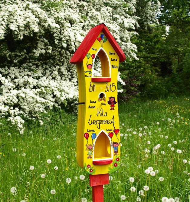 kindergarten abschiedsgeschenk vogelhaus abschied abschiedsgeschenke individuelle geschenke. Black Bedroom Furniture Sets. Home Design Ideas
