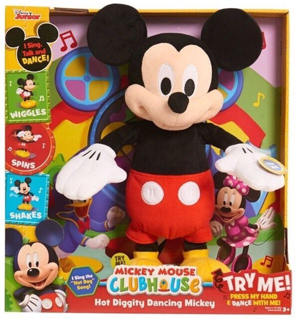Mickey Mouse Clubhouse Toy Disney Diggity Plush Interactive