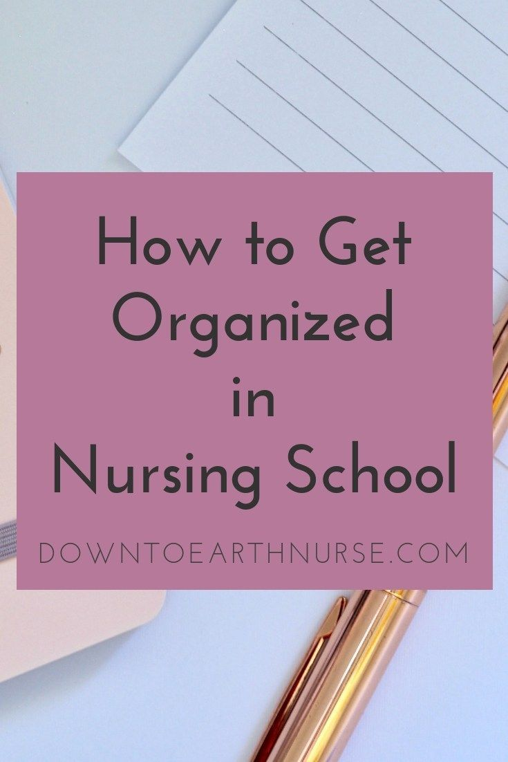 Nursing Student Tips for Studying and Organization #nursingstudents