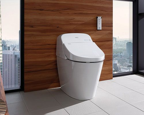 Toto MS920CEMFG#01 Washlet G400 Bidet Seat with Integrated Dual ...