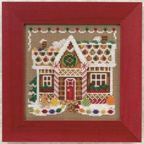 Cobbler Beaded Counted Cross Stitch Kit Mill Hill Buttons Beads 2018 Winter Series MH141836