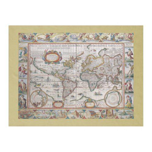 Antique World Map fleece blanket Fleece Blankets Pinterest Blanket - new antique world map images