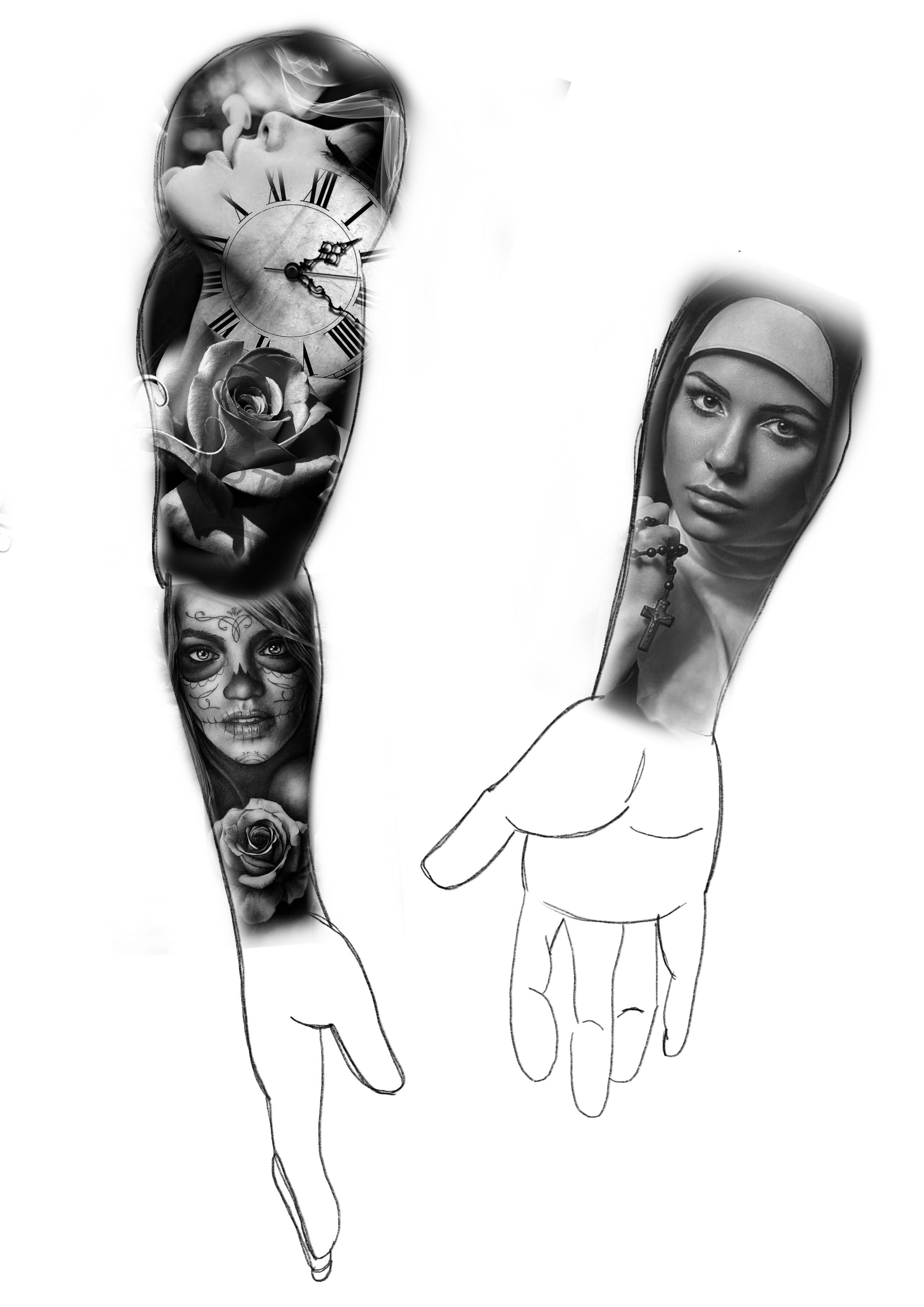 Pin De Sleng Tattoo Em Big Tattoo Tattoo Preto E Cinza
