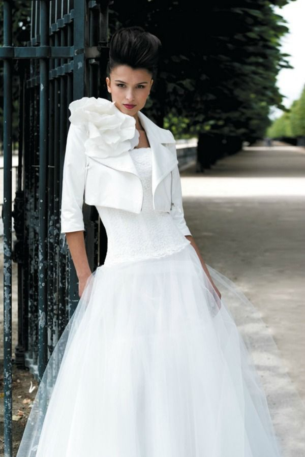 Because I create so many out of the ordinary gowns I attract my ...