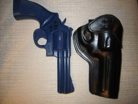 "S/&W 686 /& 586 357 Magnum Revolver Belt Holster With 4/"" Barrel NEW"