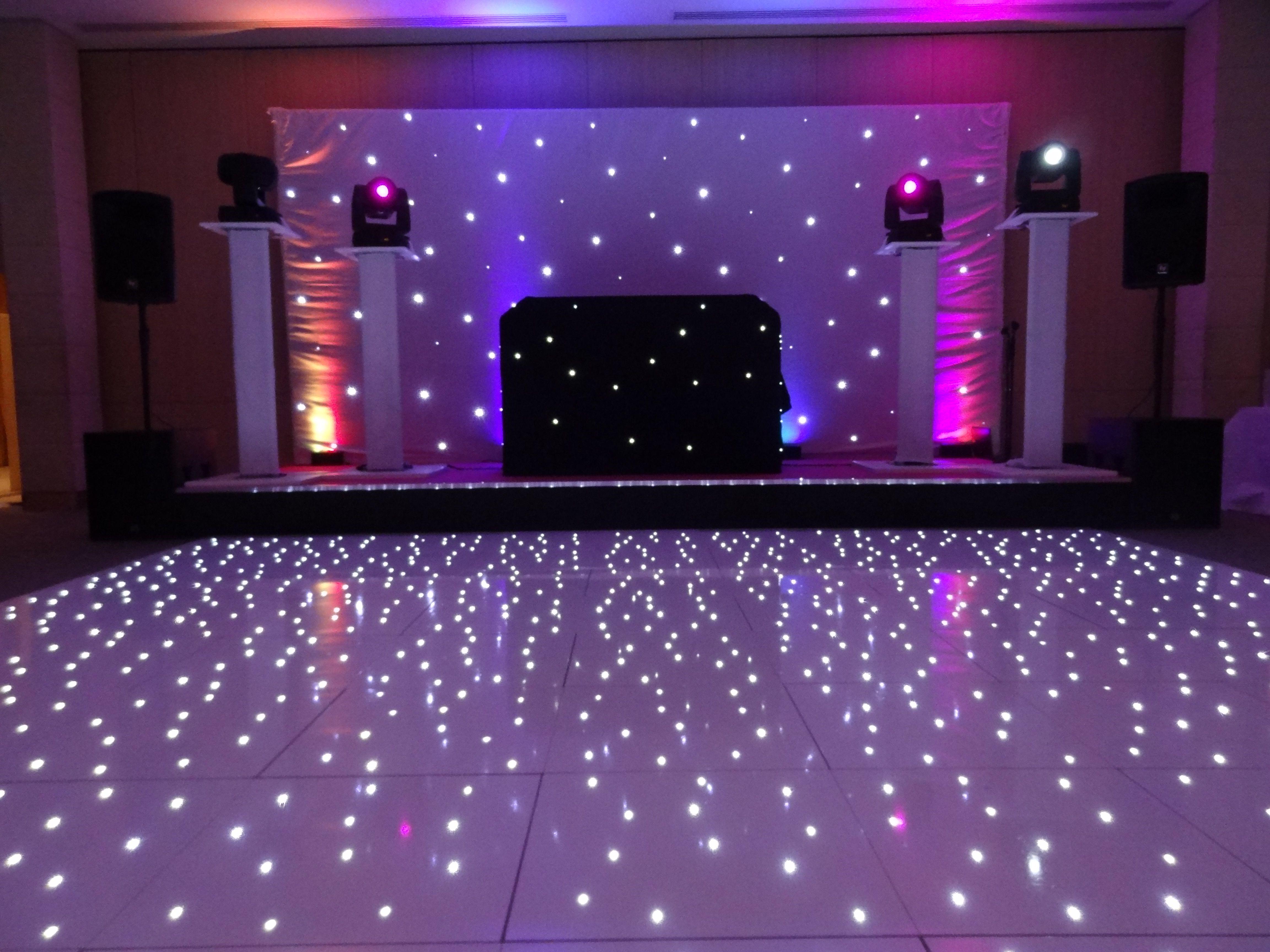 White starry dance floor Alyssa s sweet 16 Pinterest