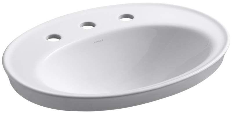 Kohler K 2075 8 Drop In Bathroom Sinks Lavatory Sink Sink