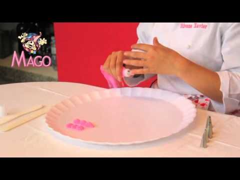 Decorando com o bico folha 112 - YouTube