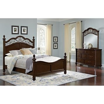 BuyOnlineVCF Derbyshire Bedroom 5 Pc Queen Bedroom - Value City