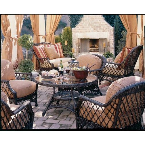 Luxury Outdoor Furniture Outlet | Designer Patio Furniture Discounted - Lane Venture Camino Real Cuddle Chair Home Fashion Pinterest