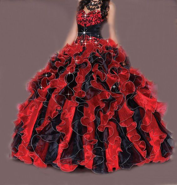 New 2014 Ball Gown Ruffle Formal Prom Bridal Gown Quinceanera Dress Stock SZ2-16 #Unbranded #BallGown #Formal
