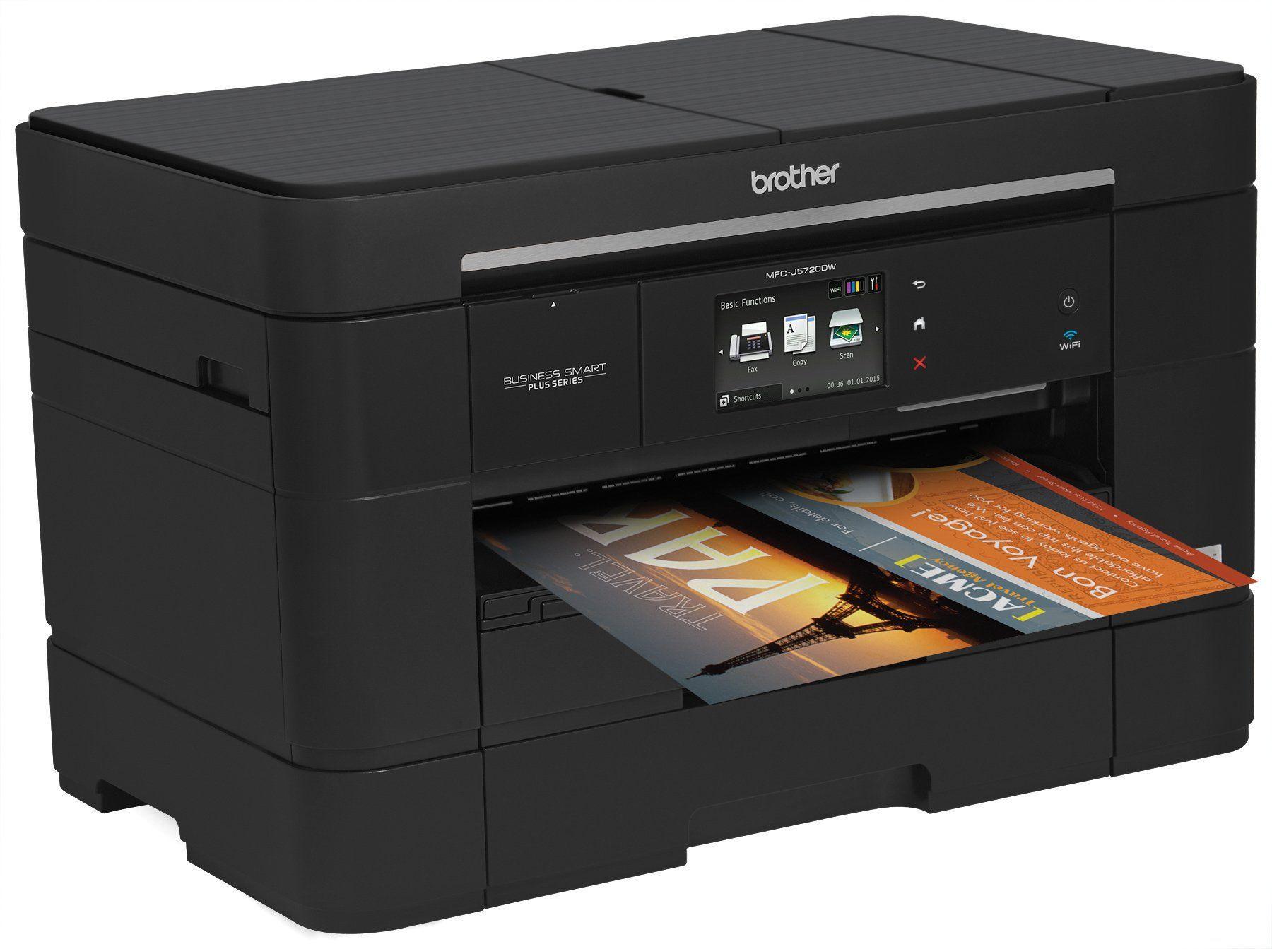 Brother Business Smart MFCJ5720DW AllinOne Color Inkjet