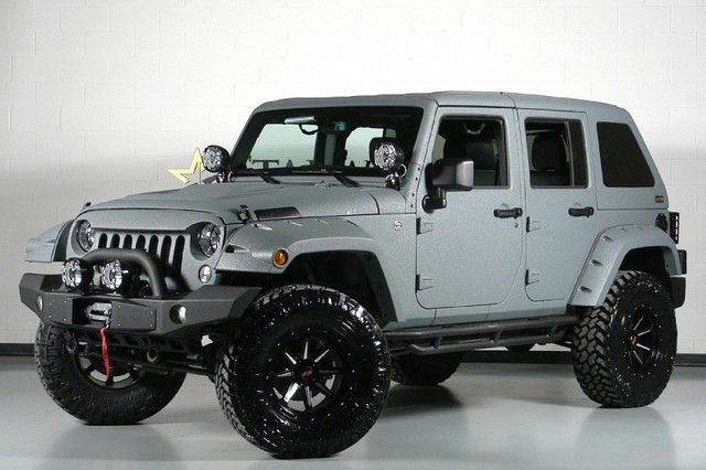 2014 Jeep Wrangler Unlimited 24s Pkg We Finance Dallas Texas
