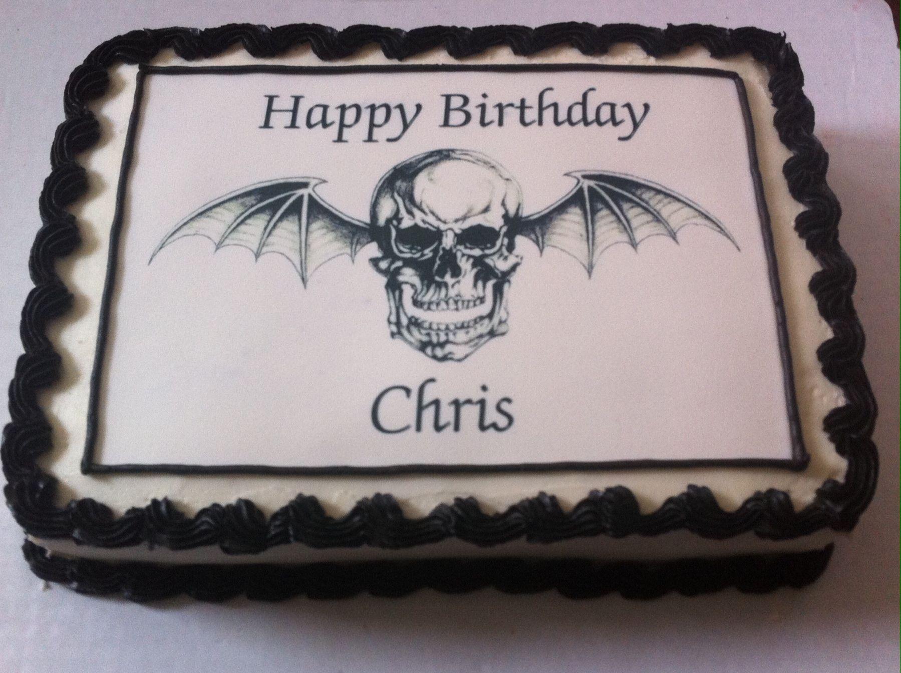 Av av avenged sevenfold tattoo designs - Avenged Sevenfold Birthday Cake