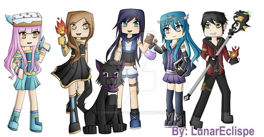 The Krew Cute Youtubers Equestria Girls Youtube Art