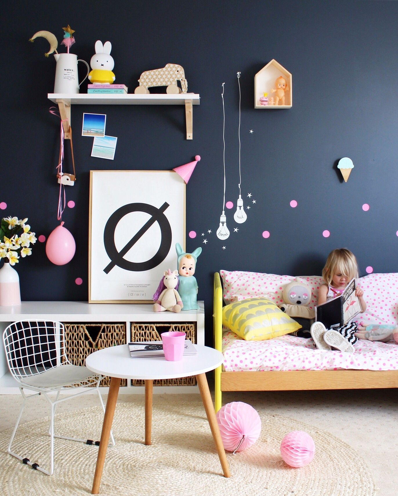 Yellow And Green Kids Room Ideas: How To Use A Simple Decal To Ignite