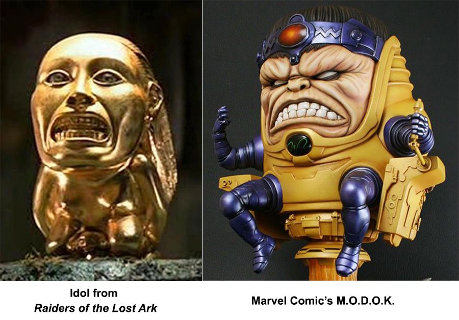 Raiders of the Lost Ark/ Marvel Comics Modok