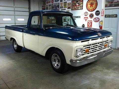 1964 ford f 100 for sale in colorado springs co blue oval 39 64 to 39 66 truck panel pinterest. Black Bedroom Furniture Sets. Home Design Ideas