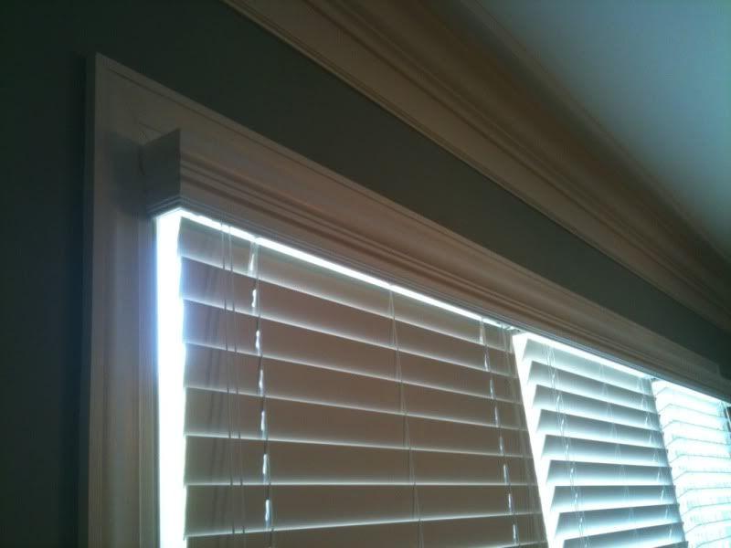top mount window blinds