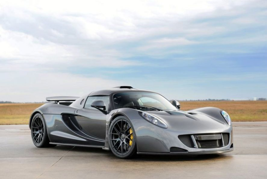The Hennessey Venom GT is the fastest production car ever made. The ...