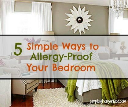 5 Simple Ways To Allergy Proof Your