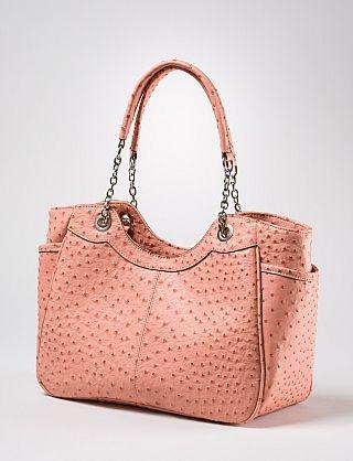 Textured Chain Handle Bag   Dressbarn
