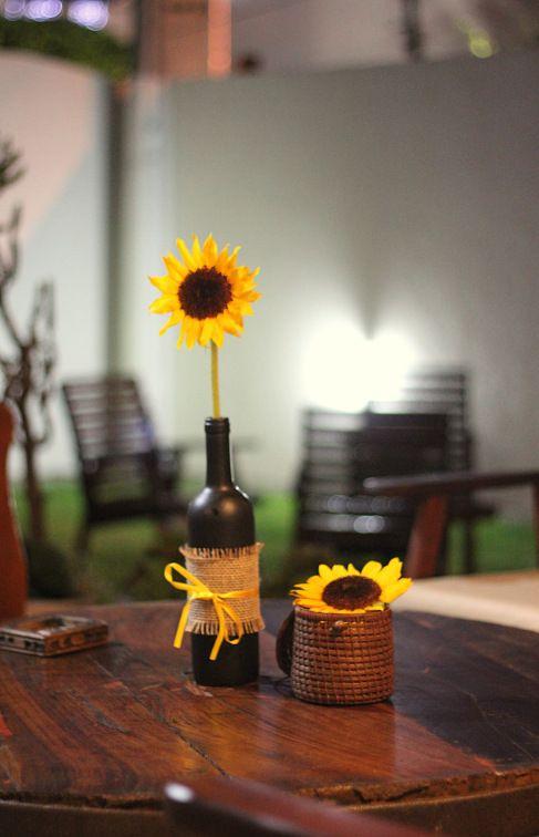 Decor, sunflower, girassol, rustic, rustico, aniversario, birthday, party, festa Partey  -> Decoração De Festa De Aniversario Girassol