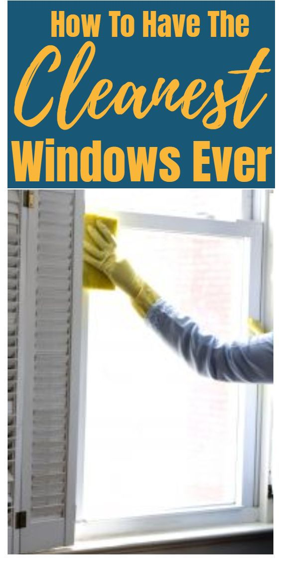 How To Have The Cleanest Windows Ever