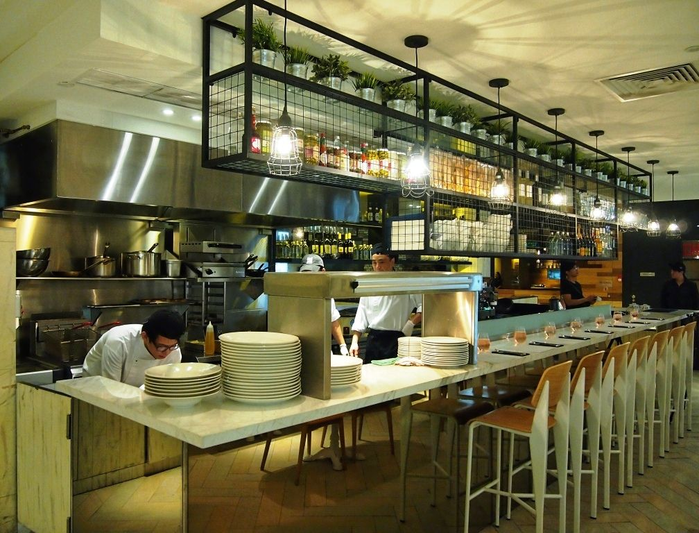 Open kitchen restaurant concept google search kitchens