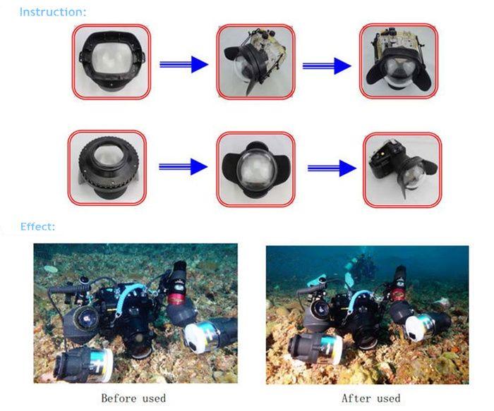 40m Meikon Sony A6000 Underwater Housing Waterproof Case Underwater House Water Proof Case Underwater Camera Housing