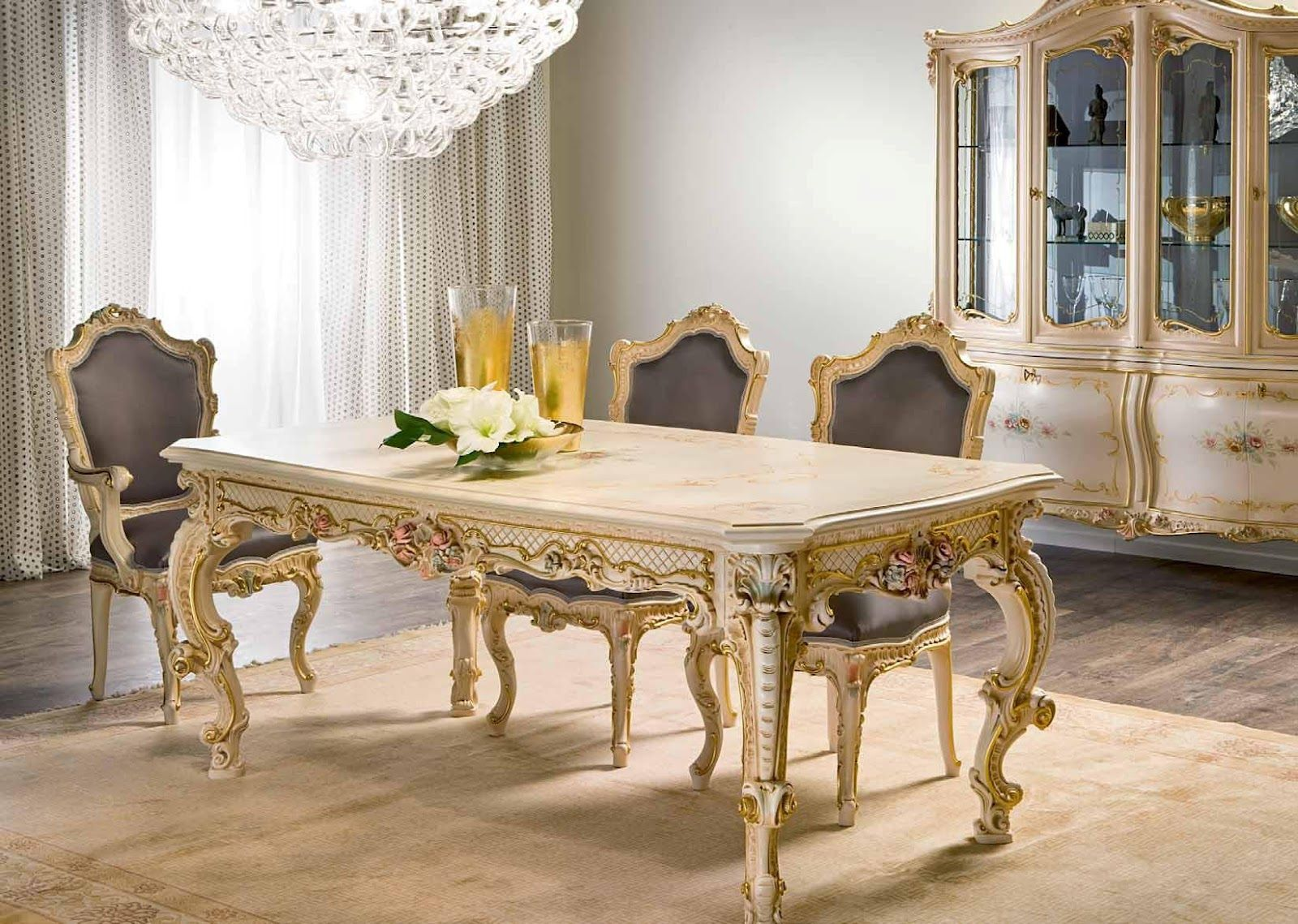 French Style Furniture Classical Collection Dining Room French