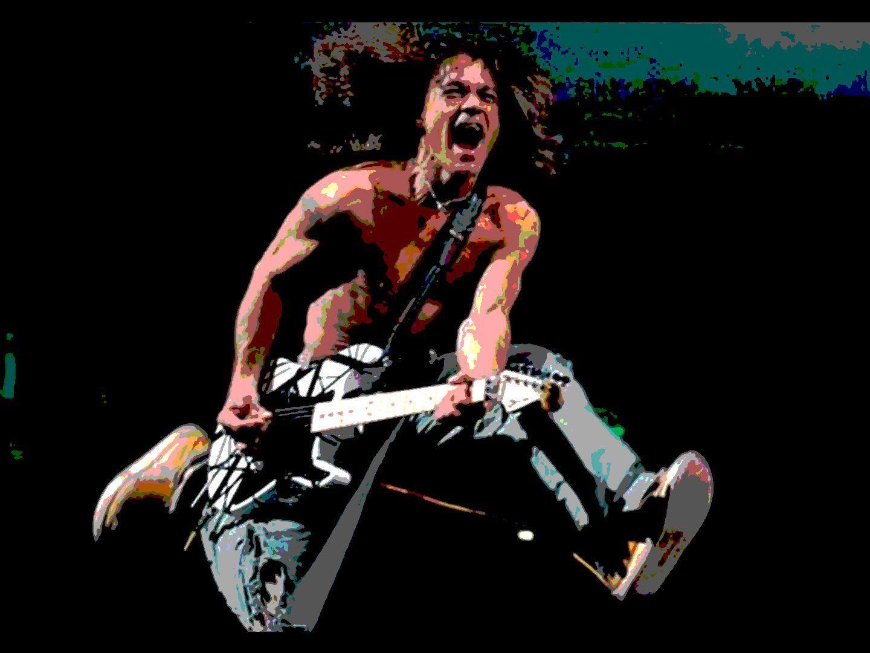 Van Halen Hard Rock Heavy Metal Classic Guitar Wallpaper 1440x1080 366445 Wallpaperup Eddie Van Halen Van Halen Rock Guitarist