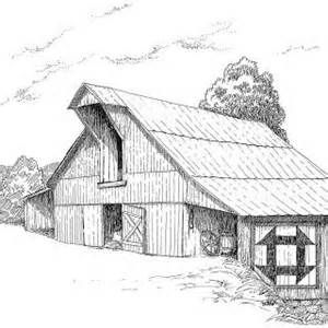 barns with barn quilts on - Bing Images | Barn drawing ...