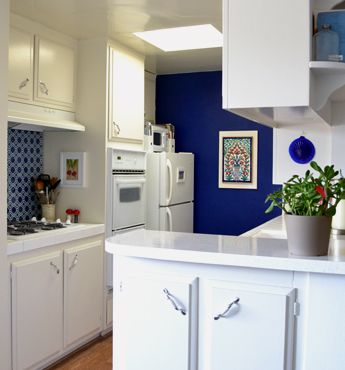 How to decorate a rental kitchen on a budget under cabinet lighting
