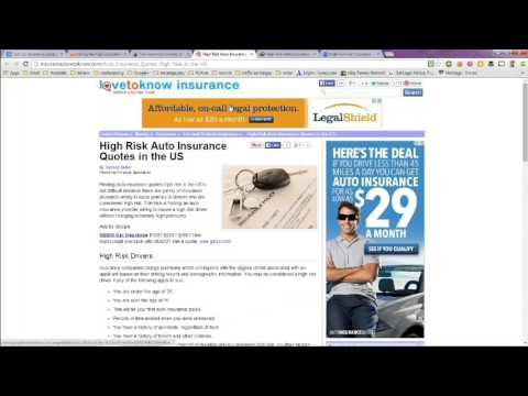 Nationwide Auto Insurance Quote Auto Insurance For High Risk Drivers  Best Companies Nationwide