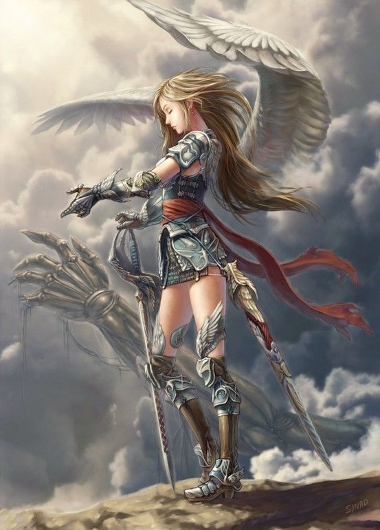 Warrior Angel Jetrel From Lilith