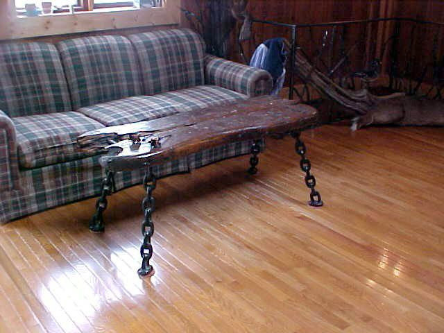 Weld The Chains Together To Make Table Legs Furniture