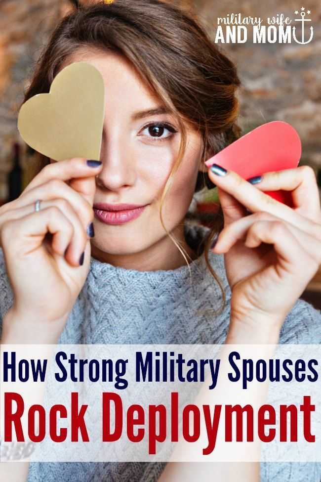 Strong military spouses all have something in common! Are you a strong military…