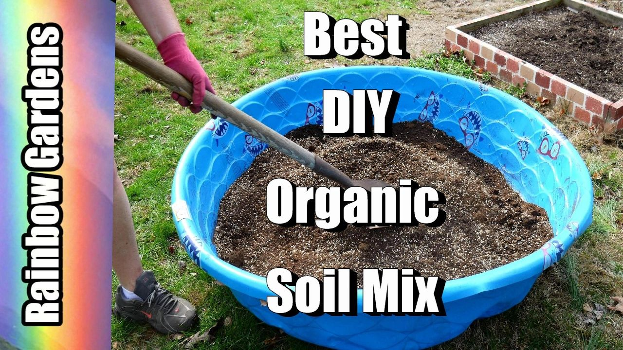 DIY The Best Organic Raised Bed or Potting Soil Mix How