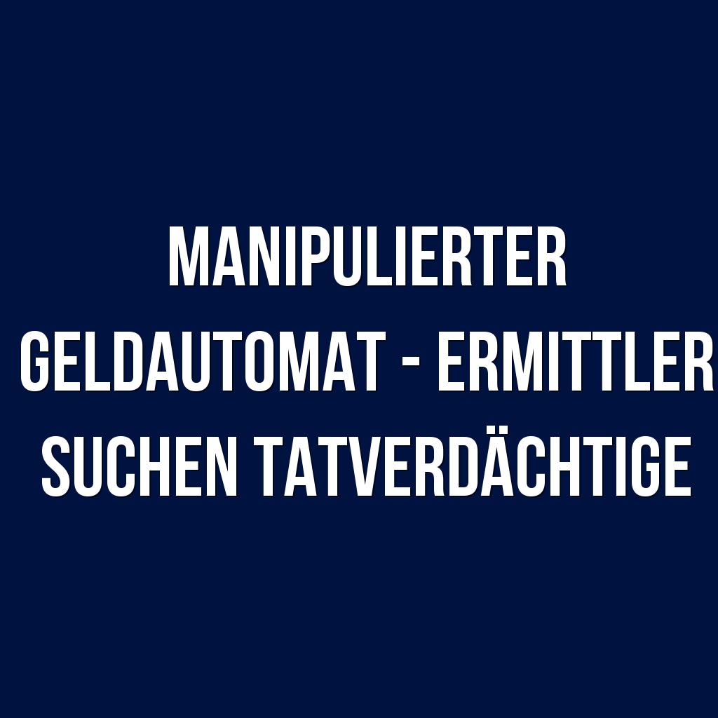 Automaten Manipulieren