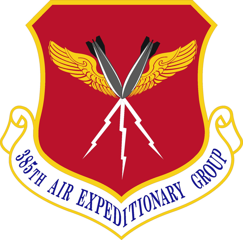 USAF 385th Air Expeditionary Group Air, Air force