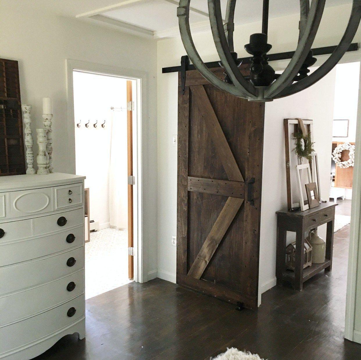 Artisan hardware farmhouse bedroom barn doors sliding