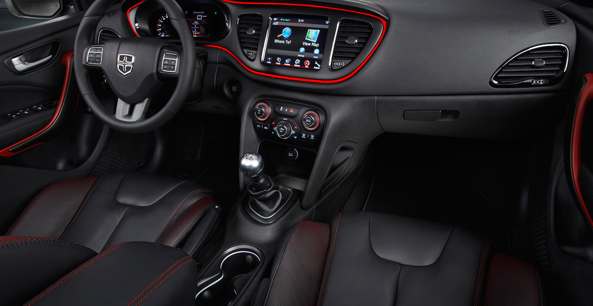 2017 Dodge Dart Gt Interior Design