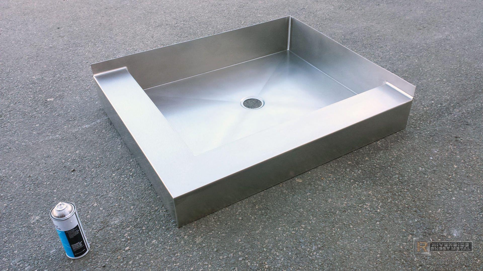 Stainless Steel Shower Floor Base Shower Pan Custom Shower Pan Shower Floor Shower Pan